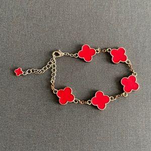 Van Cleef & Arpels style Clover Bracelet